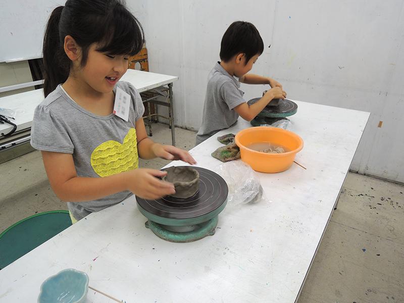 子ども教室陶芸体験
