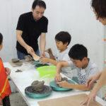 陶芸体験授業