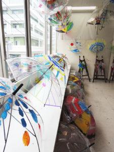 作品展2019低学年ビニール傘デザイン02
