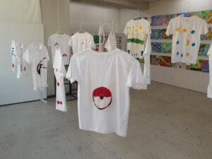 低学年クラス「Tシャツデザイン」
